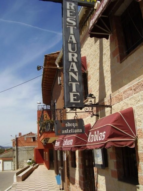 Mesón Restaurante La Cueva de Tariego en Palencia