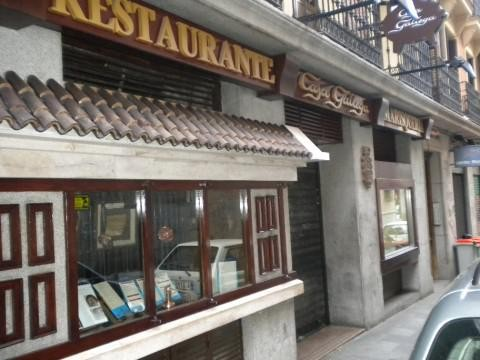 Restaurante Marisquería Casa Gallega de Madrid