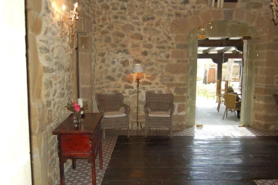 Entrada restaurante La Huerta del Indiano