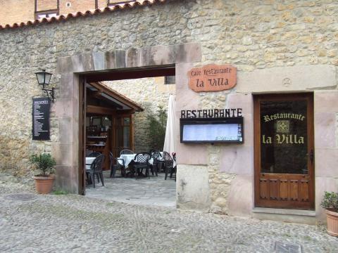 Restaurante La Villa de Santillana del Mar