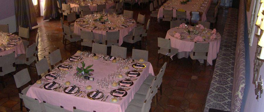 Salón de celebraciones del Parador de Cuenca