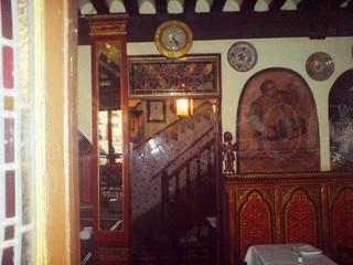 Interiores del restaurante
