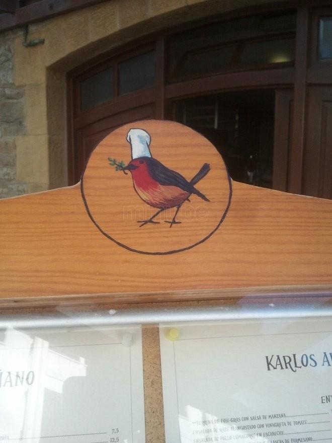 Entrada al restaurante Arguiñano de Zarautz