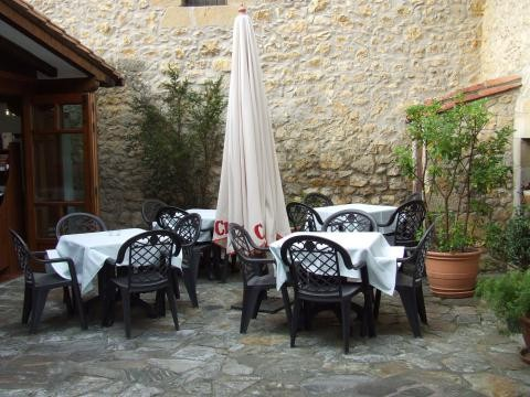Terraza restaurante La Villa