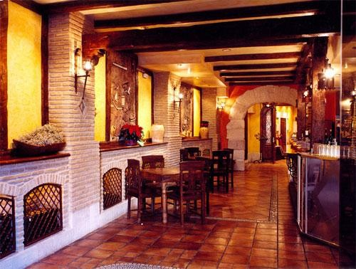 Bar del restaurante Pepe's de Palencia