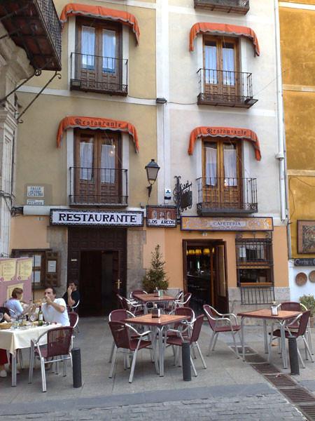 Restaurante junto a ayuntamiento de Cuenca