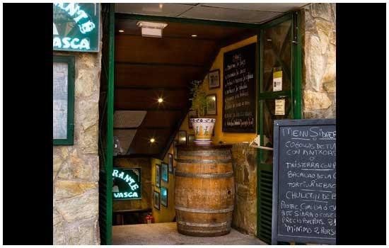 Restaurante Sidrería Aurrerá en Benidorm