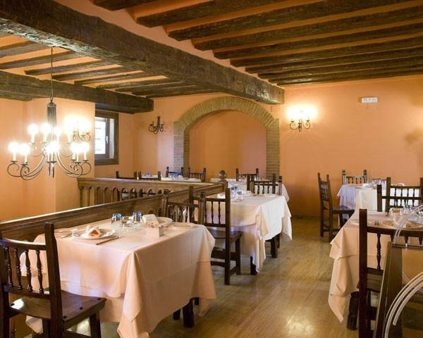 Barbacoa del restaurante Los Arcos