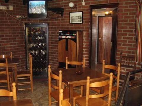 Barl del restaurante mesón La Cueva de Tariego