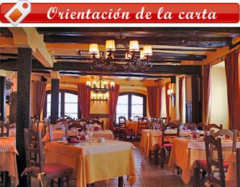 Mesas del restaurante leonés