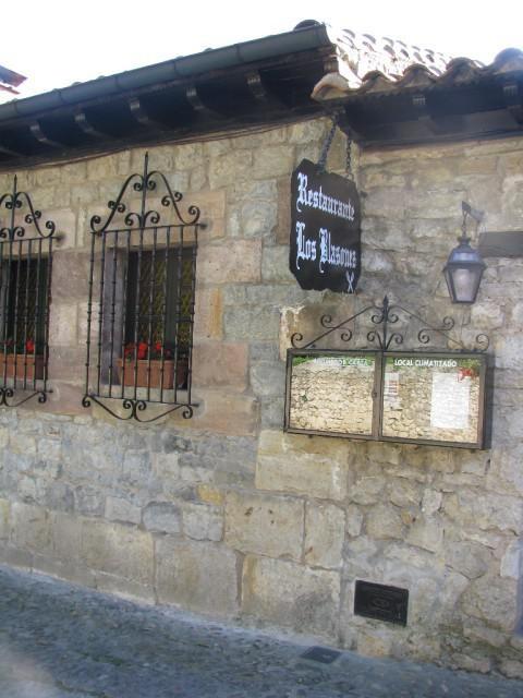 Restaurante recomendado Los Blasones