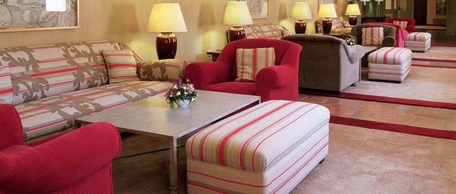 Sala de estar del Parador de Cuenca