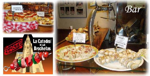 Platos Restaurante Egosari San Sebastián