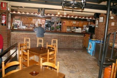 Bar del restaurante La Cueva