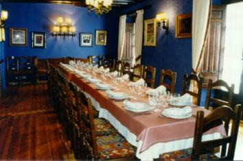 Salón de celebración en restaurante Regia de León