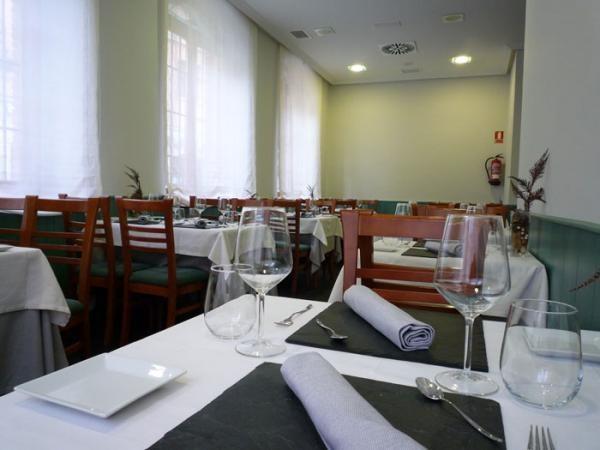 Salón del restaurante Delirios de León
