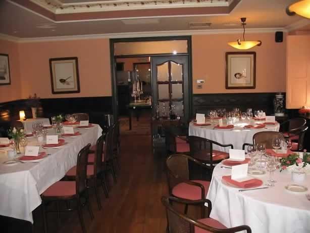 Salones del restaurante Karlos Arguiñano