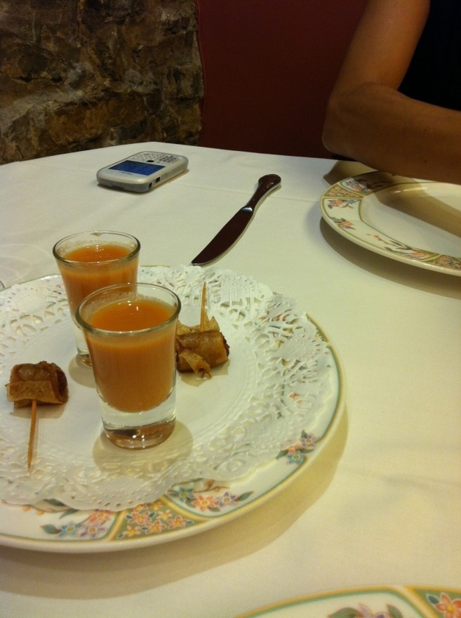 Comer bien en Zarautz