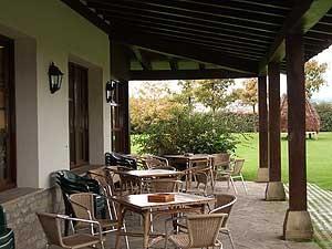 Terraza restaurante Navarra