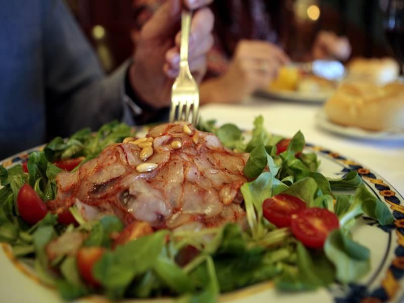 Platos del restaurante Casa Paca