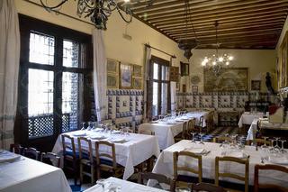 Salón del restaurante Sobrinos de botín