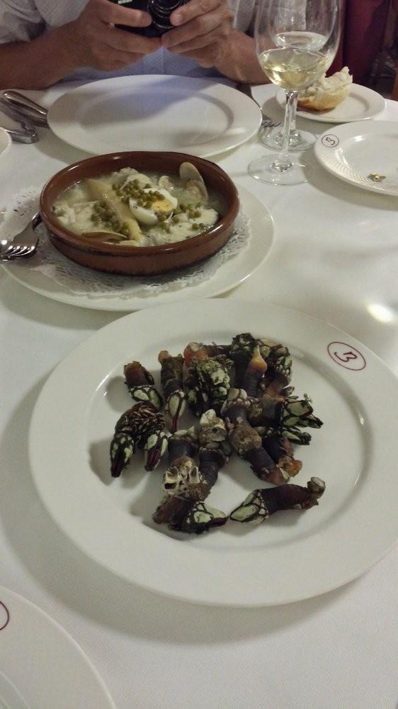 Comer marisco en San Sebastián