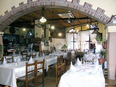Salón del restaurante Aitona