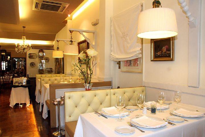 Comedor del restaurante Lanziego