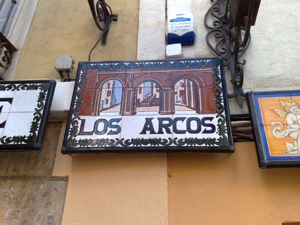 Restaurante Los Arcos en el centro de Cuenca