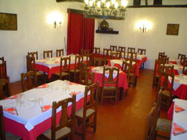 Mesas del Restaurante Mesón Quiñones de Chinchón