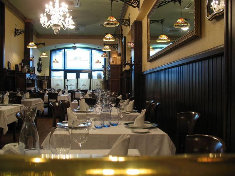 Salón del restaurante Casa Paca