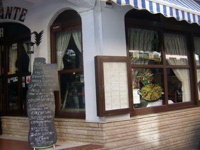 Exterior del restaurante Aitona
