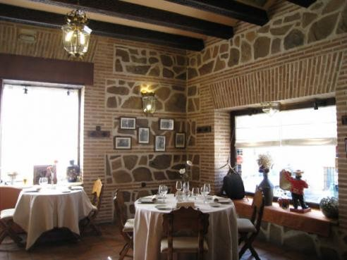 Salón del Restaurante Mesón La Orza