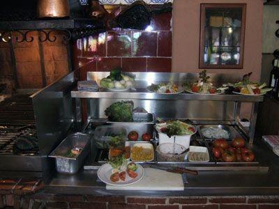 Cocina en el restaurante Aitona de Benidorm