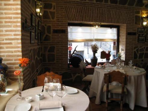 Mesas del Restaurante Mesón La Orza de Toledo