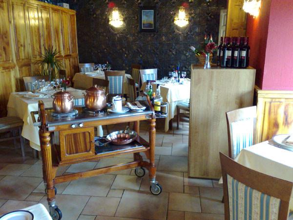 Salón rel restaurante los Arcos