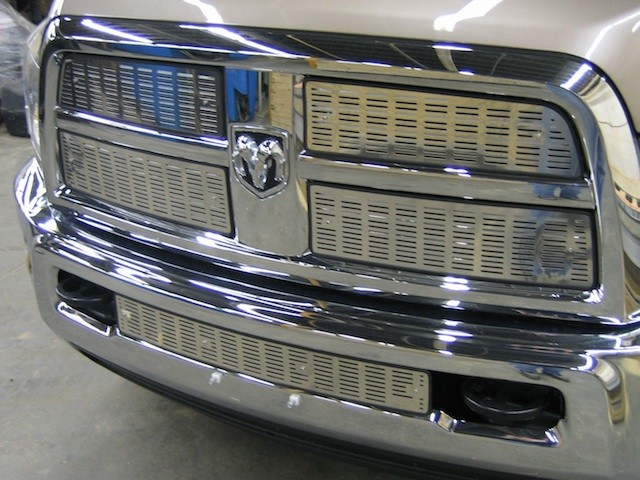 Products - Winter Front Grill Cover And Bug Screen
