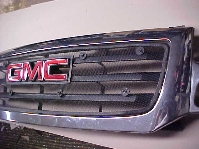 Black Metal Mesh Inserts Winter Front Grill Cover And