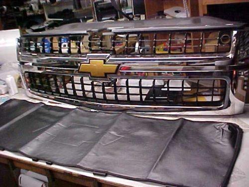 OEM Factory Winter Front  2005 2006 Chevy Silverado 2500 HD Duramax WinterFront