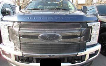 2017 2018 Ford Super Duty F250 Winter Front and Bug Screen