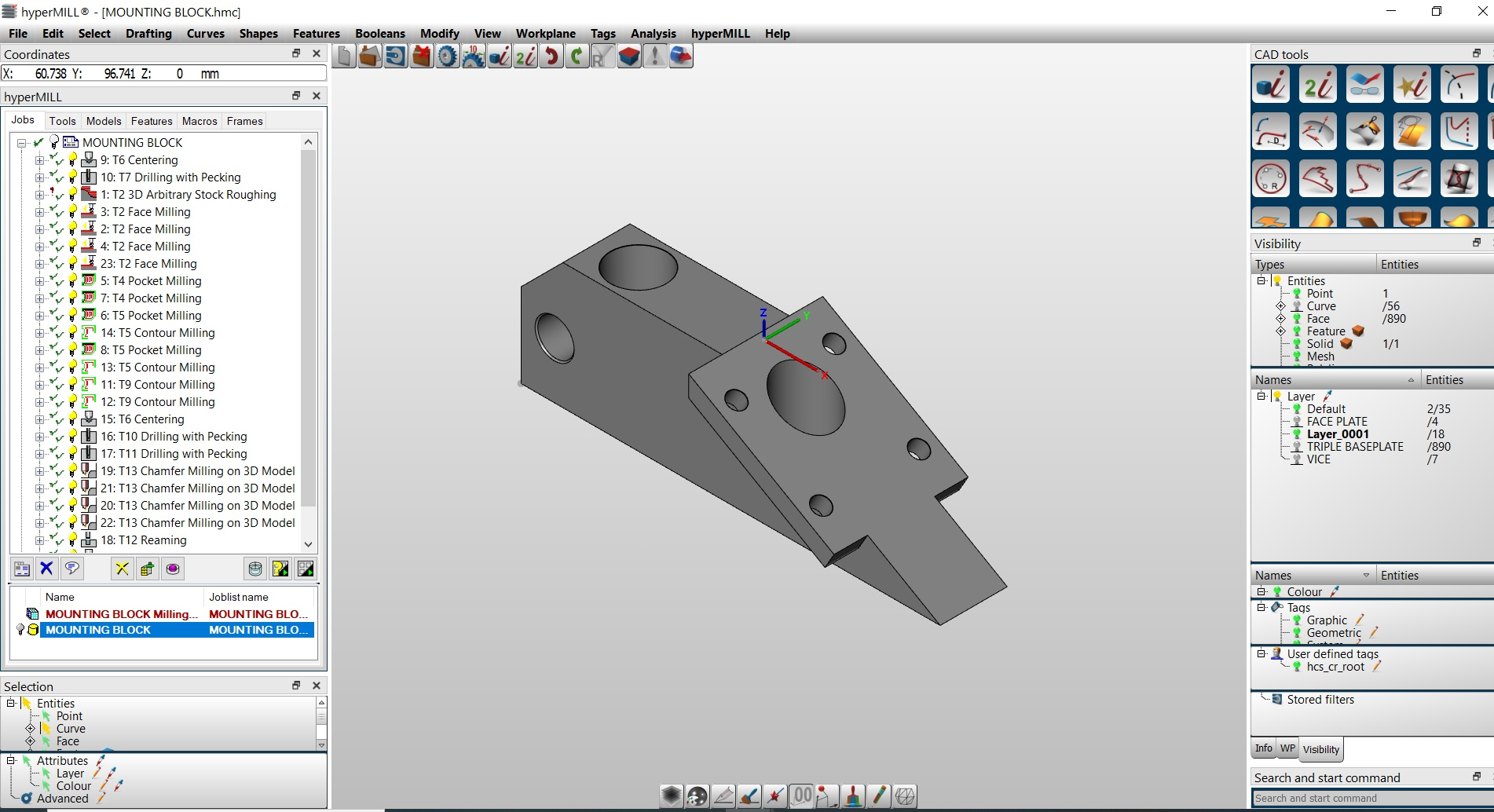 1. Begin with a 3D CAD Model . . . .
