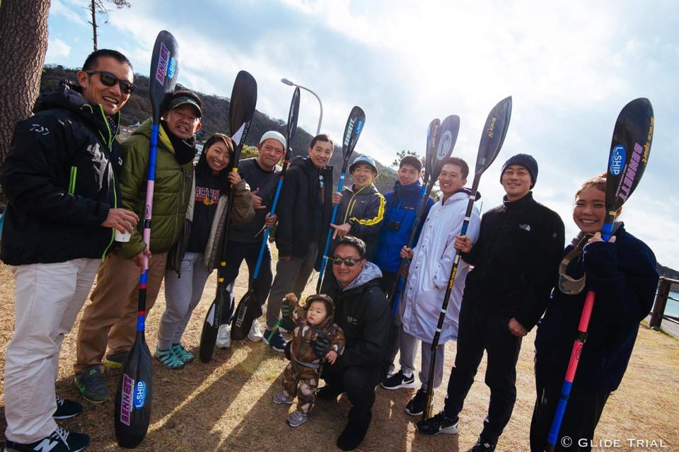 多摩川@稲田堤で漕ぐ仲間達がたくさん出場しました