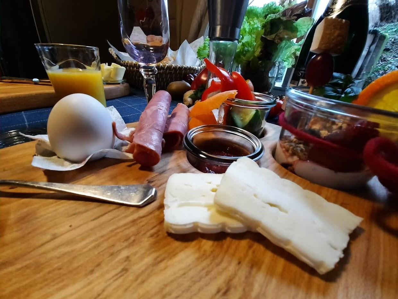 Serviervorschlag für ein ansprechendes Frühstück