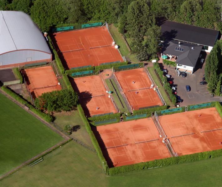 Luftaufnahme unserer 9-Platz Anlage