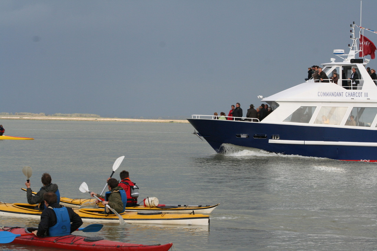 Sortie Canoë kayak dans la Baie de Somme