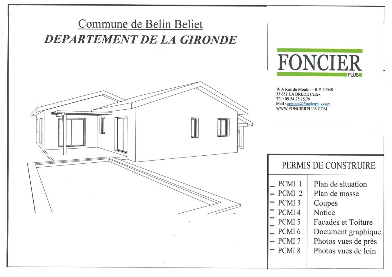 Construction maison belin beliet foncier plus vente de for Foncier construction