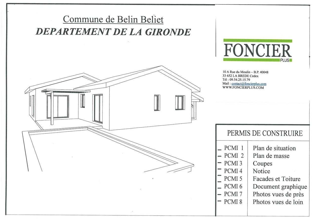 Construction maison belin beliet foncier plus vente de for Application de construction de maison ipad