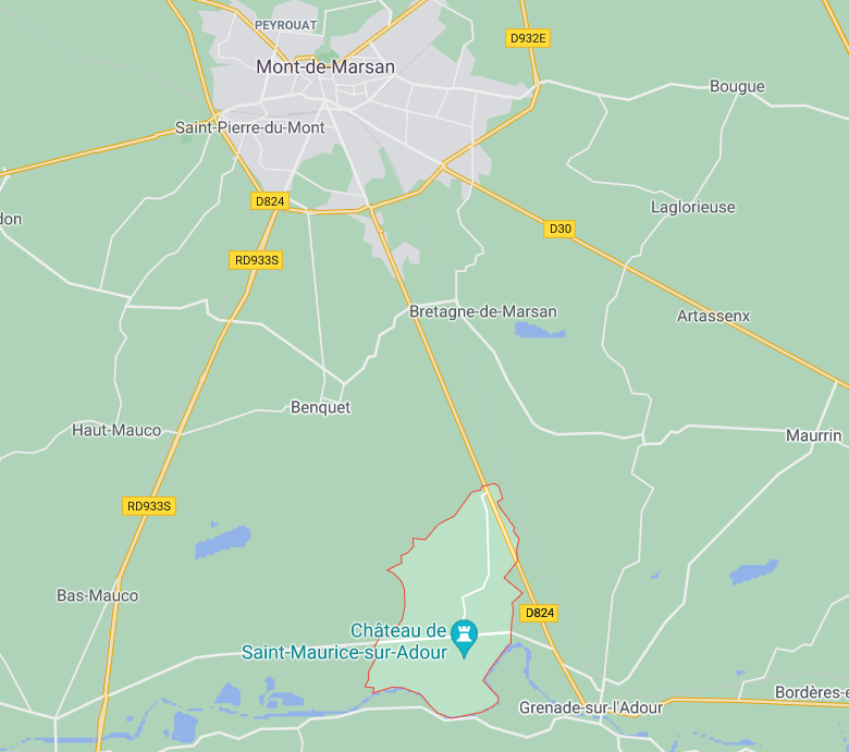 Saint Maurice sur Adour 40 Landes, Aquitaine, projet immobilier, projet construction, terrain à bâtir