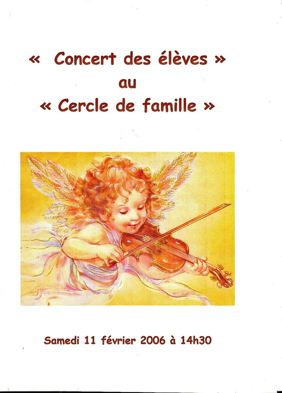 AUDITIONS MUSICALES