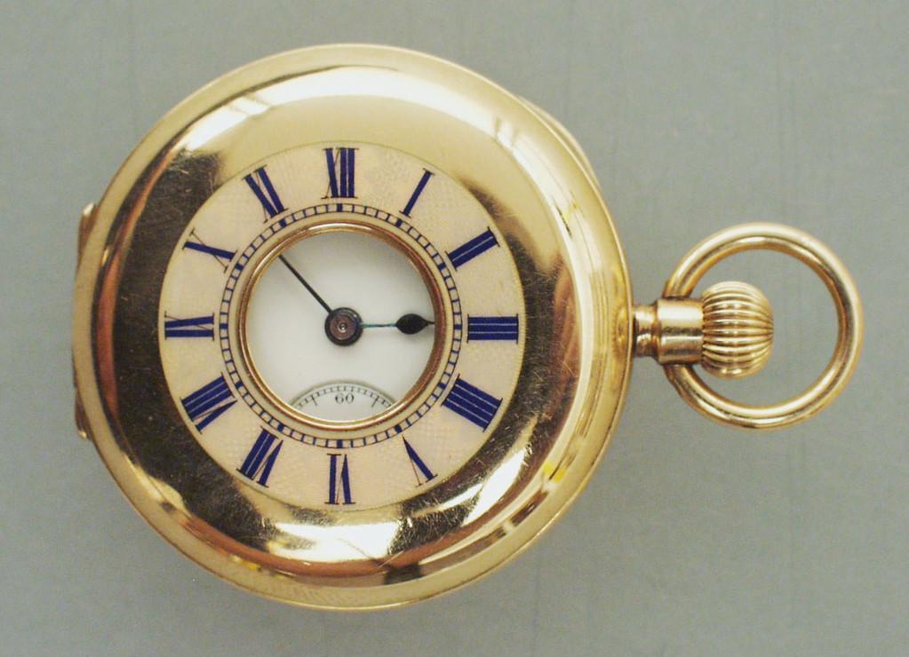 Goldene Taschenuhr aus Osnabrück